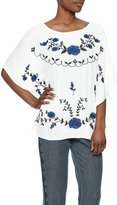 Umgee USA Floral Embroidered Top