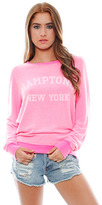 Wildfox Couture Hamptons, NY Baggy Beach Jumper in Party Girl