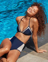 aerie Triangle Mesh Bikini Top