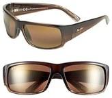Maui Jim Men's 'World Cup - Polarizedplus2' 64Mm Sunglasses - Brown/ Marlin