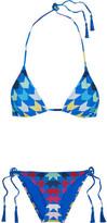 Emma Pake Esta Lia Printed Triangle Bikini