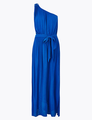 Marks and Spencer One Shoulder Belted Maxi Beach Dress