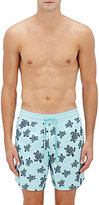 Vilebrequin Men's Turtle-Appliquéd Swim Trunks