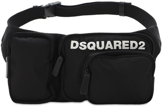 DSQUARED2 Logo Print Tech Belt Bag