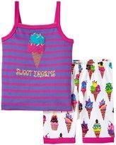 Hatley Ice Cream Tank PJ Set (Toddler/Kid) - Purple - 6