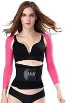 Raspberry Women's Long Sleeve Slimming Arm Shaper- M