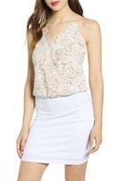 WAYF x Influencing in Color Houston Cami Lace Bodysuit