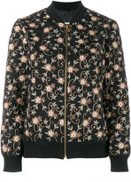 Ashish floral embroidered bomber jacket - women - Cotton/Polyester - XS