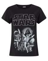 Star Wars Childrens/Girls Official Character Design T-Shirt