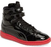 Puma Sky II Hi Patent High Top Sneaker (Big Kid)