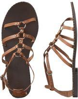 Women's Leather Gladiator Sandals