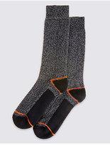 M&S Collection 2 Pairs of FreshfeetTM Lightweight Socks