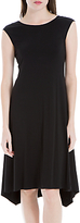 Max Studio Cap Sleeve Jersey Dress, Black