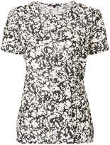 Proenza Schouler floral flared blouse