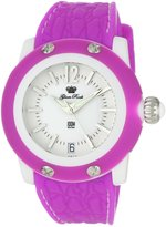 Glam Rock Women's GR23012 Miami Beach Dial Fuschia Silicone Watch