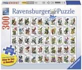 Ravensburger 50 Bird Stamps Puzzle - 300 Pieces