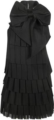Balmain Back Bow Detail Sleeveless Dress
