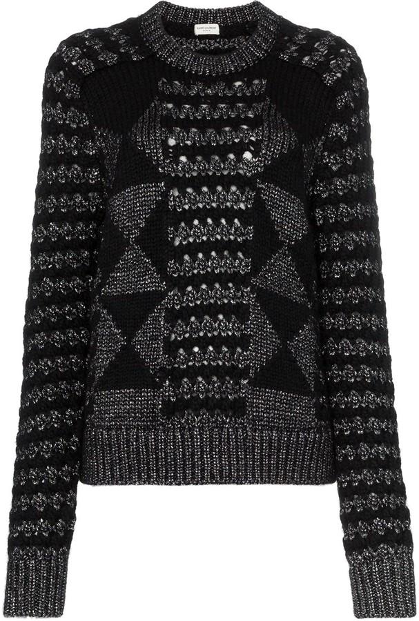 9f570b0d59d Saint Laurent Women's Sweaters - ShopStyle