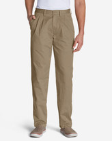 Eddie Bauer Men's Relaxed Fit Side Elastic Waist Chino Pants
