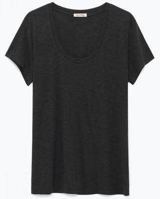 American Vintage Charcoal Jacksonville T Shirt - Large - Black