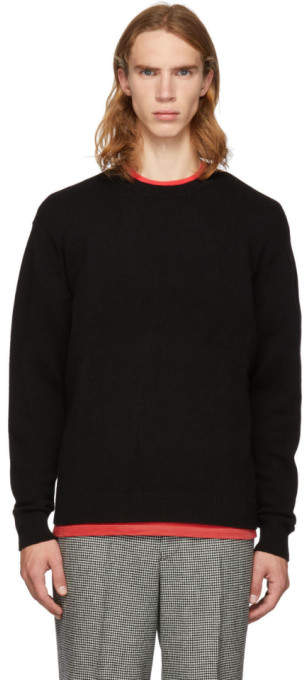 John Elliott Black Cashmere Crewneck Sweater