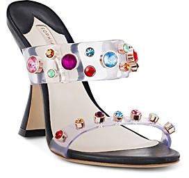 Sophia Webster Women's Dina Crystal-Embellished High-Heel Sandals