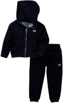 True Religion Indigo Mineral Hoodie & Pant Set (Baby Boys)