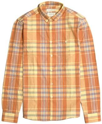 Far Afield Casual Button Down Long Sleeve Shirt - Tarida Check