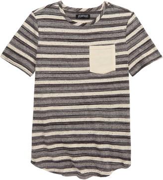 Elwood Stripe Pocket Slub T-Shirt