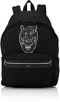 Saint Laurent Men's Embellished Classic Backpack-BLACK