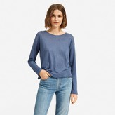 Everlane The Linen Relaxed Long-Sleeve Tee