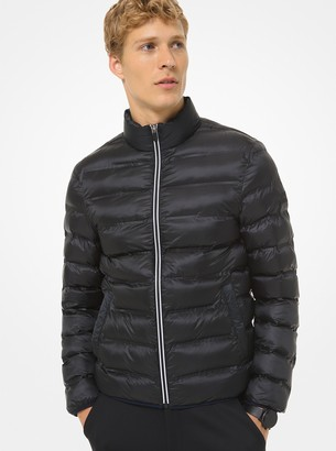 Michael Kors X TECH Quilted Taffeta Puffer Jacket
