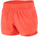 2XU Women's X-VENT 4 inch Short with Brief