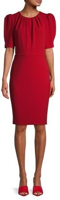 Calvin Klein Crewneck Knee-Length Dress
