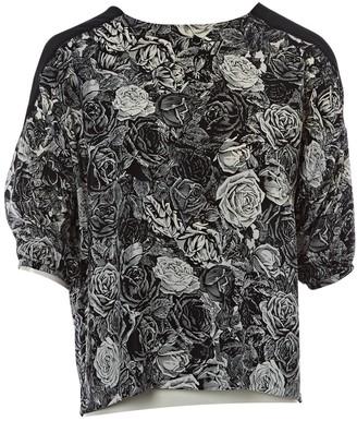Thakoon Black Silk Top for Women