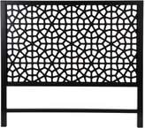 Zanui Moroccan Bazaar Marrakesh Bed Head, Black, King