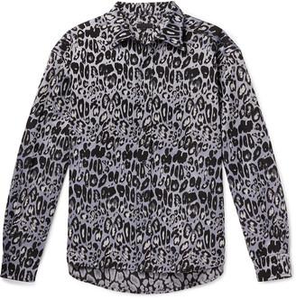 99% Is Leopard-Jacquard Shirt