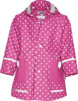 Playshoes Childrens Dots Collection Waterproof Rain Jacket