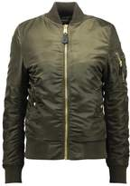 Alpha Industries Bomber Jacket dark green