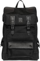 Belstaff Road Master Nylon & Leather Backpack
