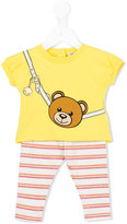 Moschino Kids Teddy bear trouser set
