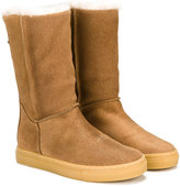 Moncler shearling lined boots