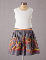 Boden Rainbow Ribbon Vest Dress