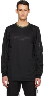 Mastermind Japan Black Bomber Long Sleeve T-Shirt