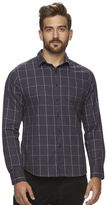 Marc Anthony Men's Slim-Fit Plaid Soft-Touch Flannel Button-Down Shirt