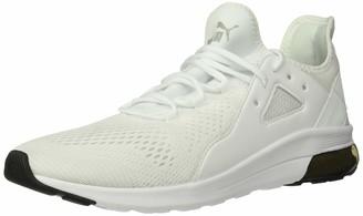 Puma Unisex's Electron Street Sneaker White-high Rise Black Numeric_6_Point_5