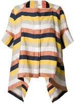 Henrik Vibskov striped flip shirt