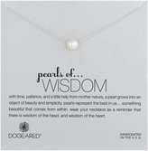 """Dogeared Pearls of . . . Wisdom"""" Sterling Silver 8mm Freshwater Pearl Necklace, 18"""""""