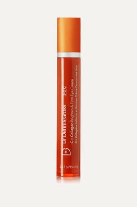 Dr. Dennis Gross Skincare C Collagen Brighten & Firm Eye Cream, 15ml