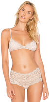 Only Hearts Italian Eco Lace Bralette in Beige. - size L (also in M,S)